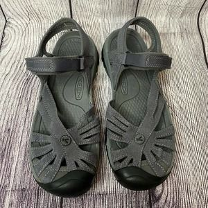 Keen Leather Round Toe Sports Hiking Sandals 9.5